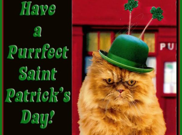 Have A Purrfect Saint Patrick's Day - Cat humor